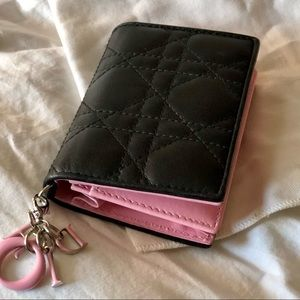 """Dior """"Miss Dior"""" Quilted Card Case"""